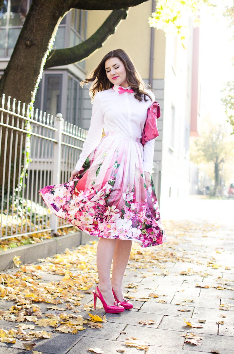 Midi Rock Outfit – mein Frühlingserwachen