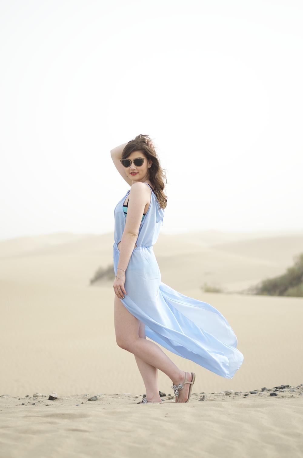gran-canaria-les-dunas-blaues-kleid