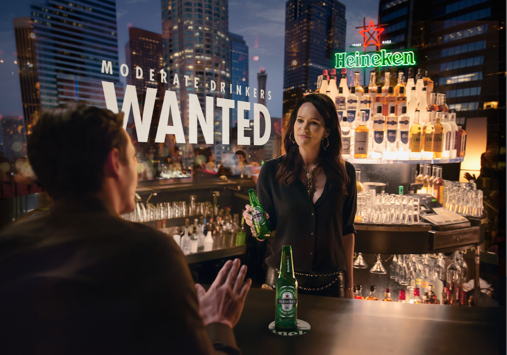"Heineken – ""Moderate Drinkers Wanted"""