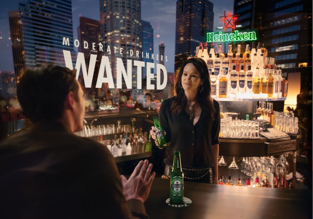 """Heineken – """"Moderate Drinkers Wanted"""""""