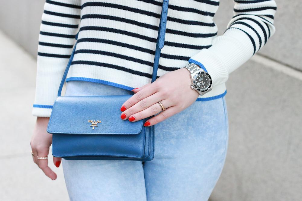 fashion-blogger-rolex-uhr-prada-mini-tasche