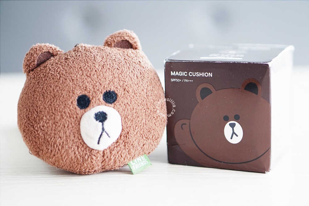 magic-cushion-bear-missha-line-friends-review