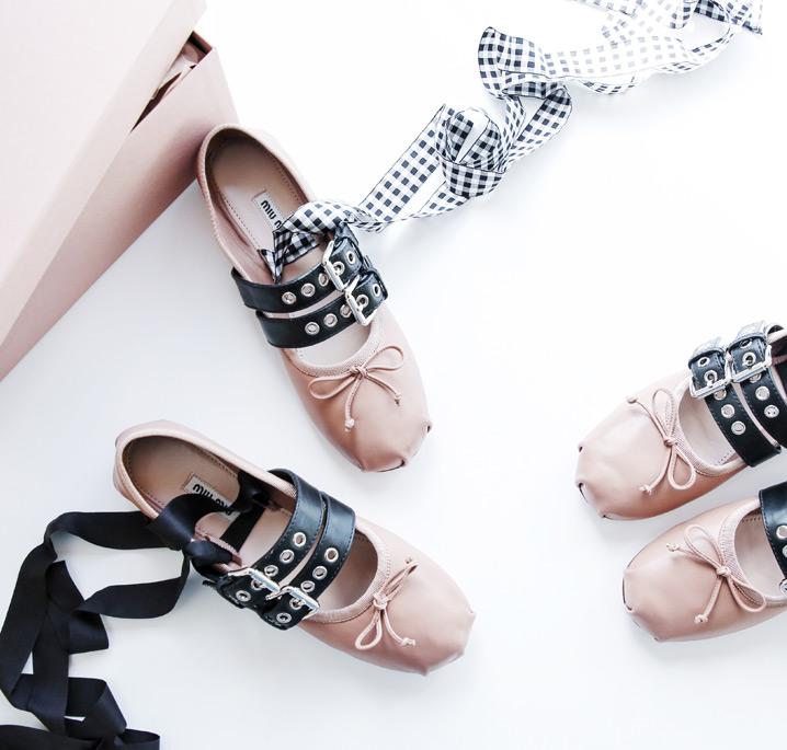 #REALORSTEAL – Miu Miu Ballerinas mit Schnalle