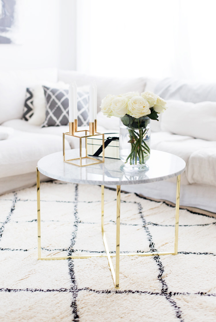 DIY – Marmor Tisch unter 20€