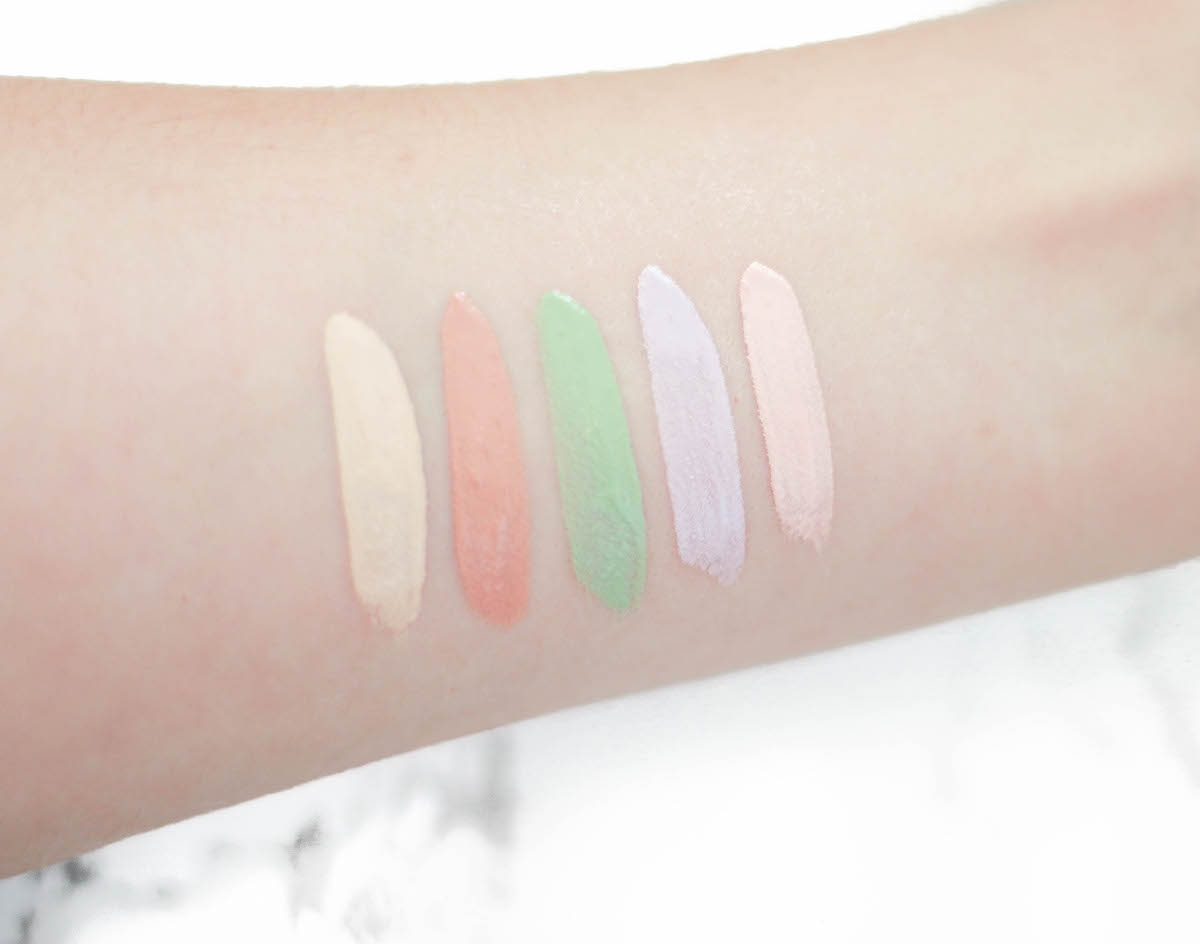 swatch-urban-decay-color-correcting-fluid-lavender-green-peach-pink-2