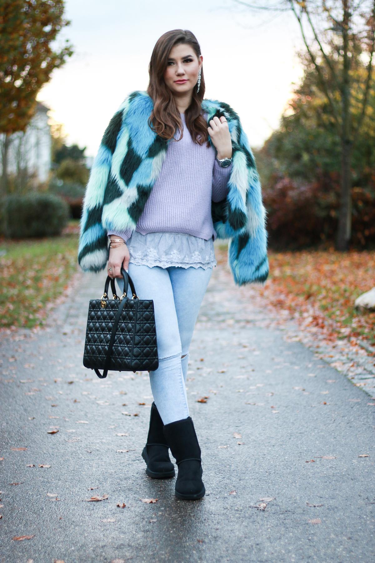 sara-bow-winter-outfit-armani-jacke-pelz