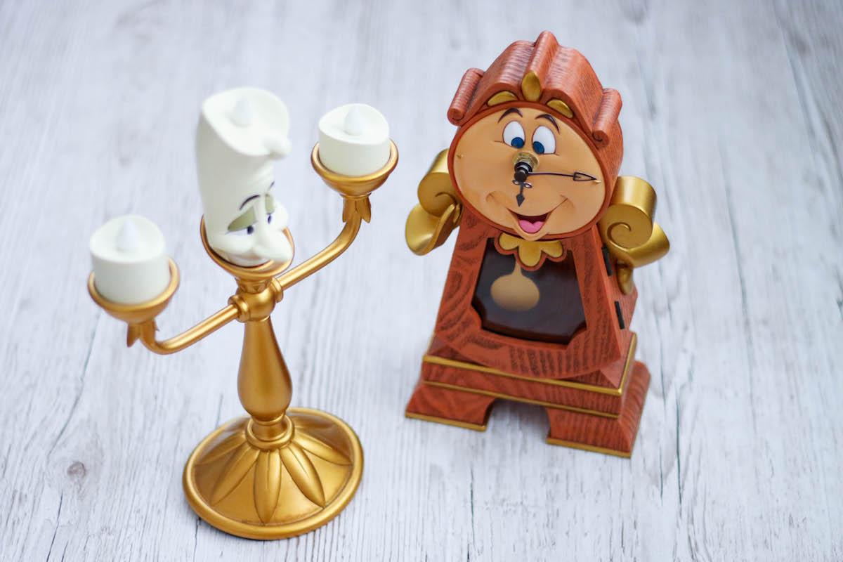 Lumiere und Von Unruh Figuren aus Die Schöne und Das Biest