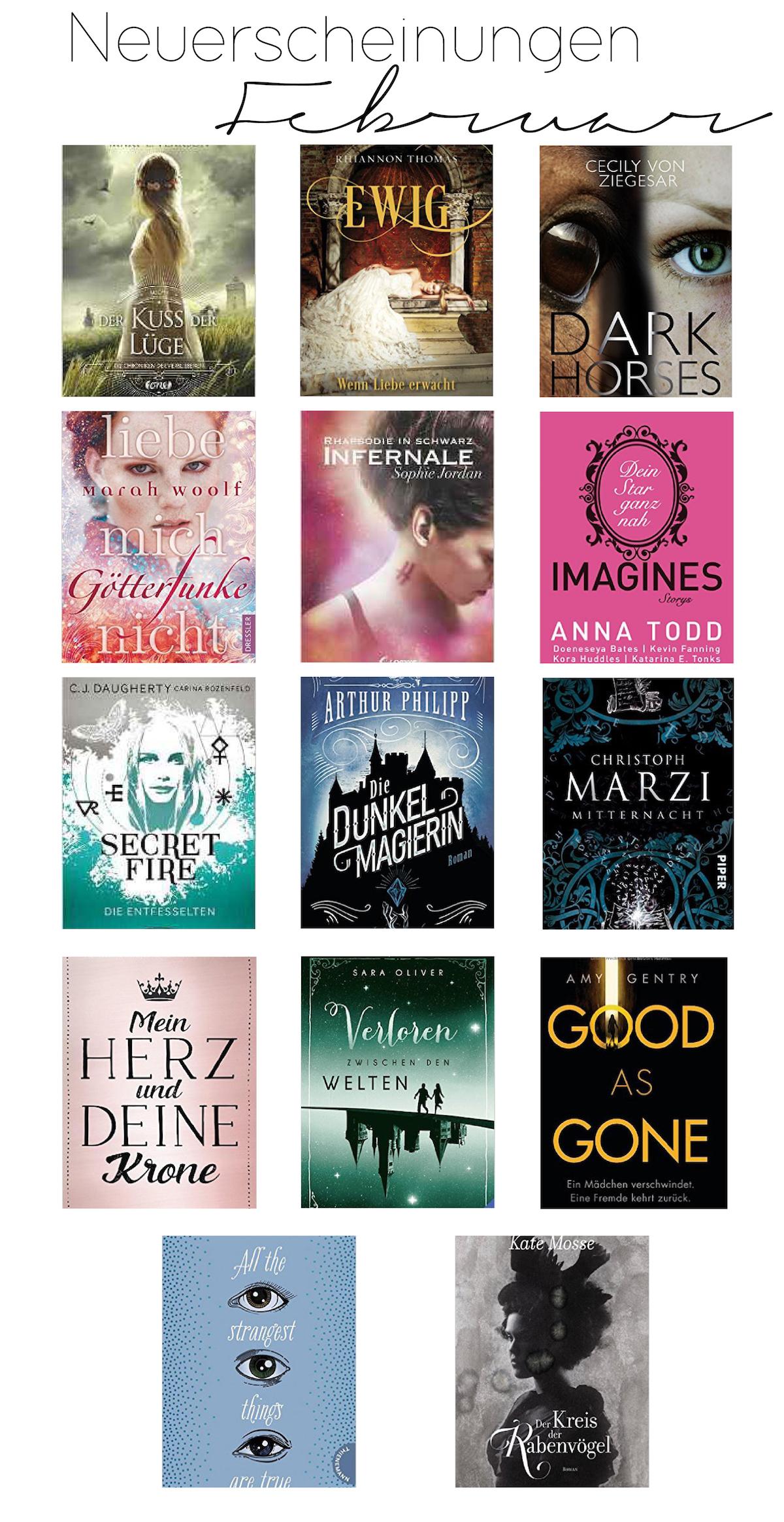 Top Buchneuerscheinung Februar 2017 Fantasy Jugendbuch