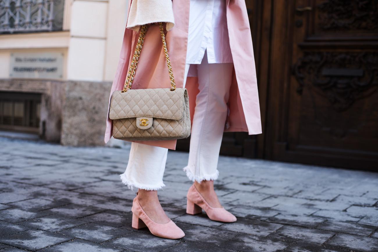 Nude Chanel Tasche von Fashiioncarpet Nina