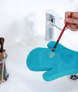 Pinsel richtig waschen