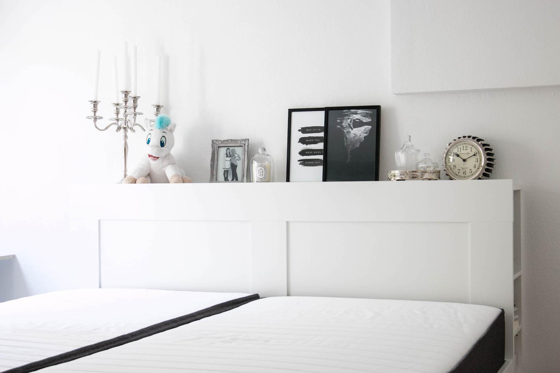 Schlafzimmer Inspiration Weiss Sara Bow Bloggerin Interior