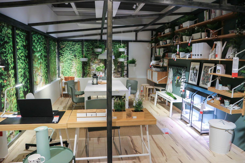 Ikea Inspiration Wintergarten Esszimmer Pflanzen Sara Bow