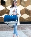 Luxus Reisegepäck Neopren und Leder